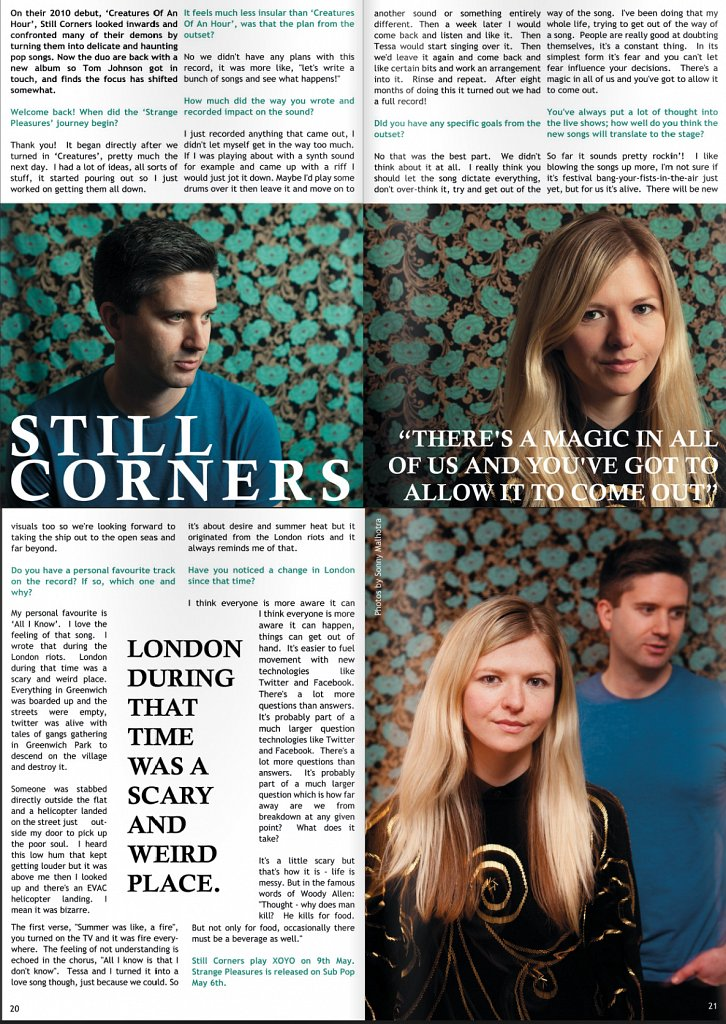 London in Stereo - Still Corners