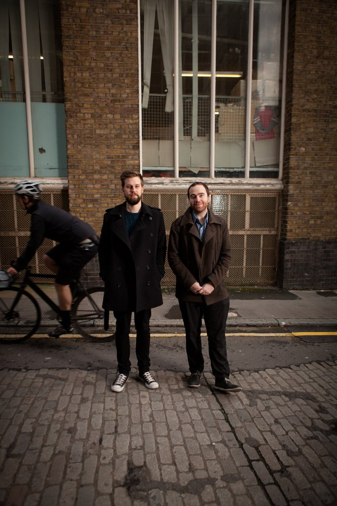 Tim and Toby of Transgressive Records