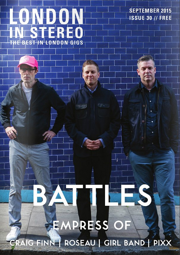 Battles London in Stereo Cover